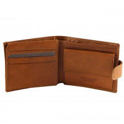 Leather Wallet For Men - 7009