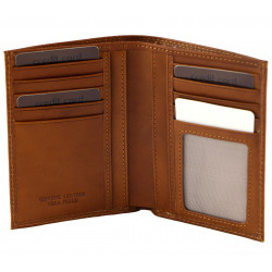 Leather Wallet For Men - 7021
