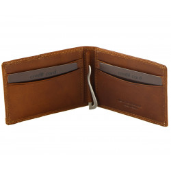 Leather Credit Card Holder - 7026