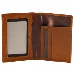 Leather Credit Cards Holder - 7039