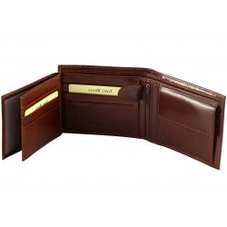 Leather Wallet For Men - 7048
