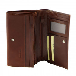 Genuine Leather Women's Wallets - 7082