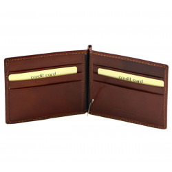 Leather Card Holder - 7087