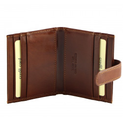 Leather Card Holder - 7093