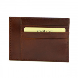 Leather Cards Holder - 7094