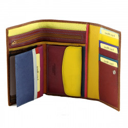Women's Leather Wallets - 7114