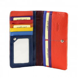 Leather Card Holder - 7124