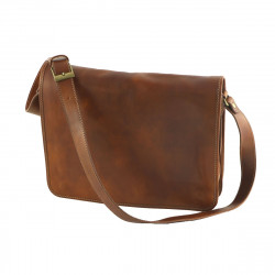 Leather Messenger Bags - 2003 - Leather Briefcases Unisex