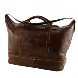 Leather Traveller Bags‎ - 6003 - Genuine Leather Bag