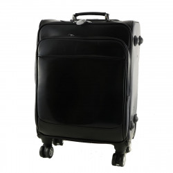Leather Trolley - 6007 - Leather Travel Bag