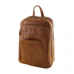 Genuine Leather Backpack  - 3011 - Genuine Leather Bags
