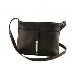 Leather Shoulder Bag - 1031 - Genuine Leather Bags