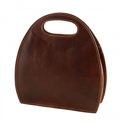Leather Handbag - 1038 - Genuine Leather Bags