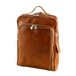 Genuine Leather Backpack - 3017 - Genuine Leather Bags