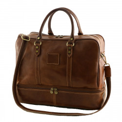 Leather Travel Bags - 6011 - Genuine Leather Bag