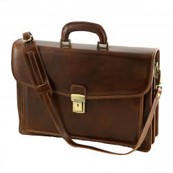 Genuine Leather Briefcase - 4023 - Genuine Leather Bags