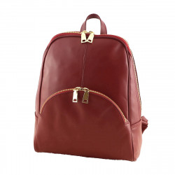 Leather Backpack - 3016 - Genuine Leather Bags