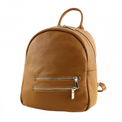 Genuine Leather Backpack - 3018 - Genuine Leather Bags