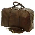 Genuine Leather Travel Bag - FLB0305 - Leather Bags Florentine
