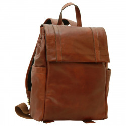 Genuine Leather Backpack - FLB0308 - Leather Bags Florentine
