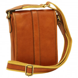 Genuine Leather Man Bag - FLB0311 - Leather Bags Florentine