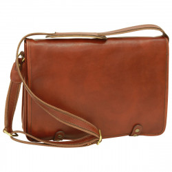 Genuine Leather Briefcase - FLB0313 - Leather Bags Florentine