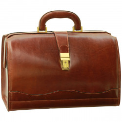 Genuine Leather Doctor Bag - TLB3013 - Luxury - Leather Bags Toscana