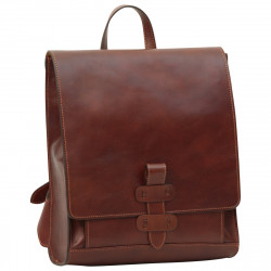 Genuine Leather Backpack - TLB4117 - Luxury - Leather Bags Toscana