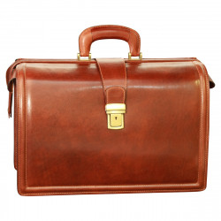 Genuine Leather Briefcase - TLB0051 - Luxury - Leather Bags Toscana