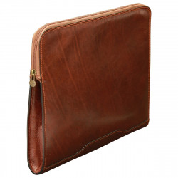 Genuine Leather Document Case - TLB0092 - Luxury - Leather Bags Toscana
