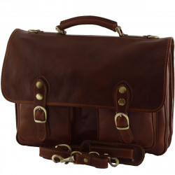 Leather Business  Briefcase - 0011 - Luxury