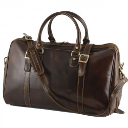 Leather Travel Bag - 0004 - Small - Luxury