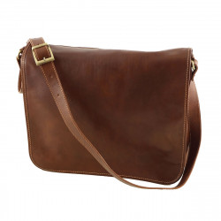 Messenger Leather Bag For Men - 2019 - Genuine Leather Bags