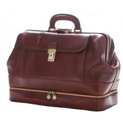Genuine Leather Doctor Bag - 0017 - Luxury
