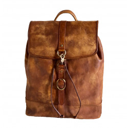 Genuine Leather Backpack - 3013 - Genuine Leather Bags